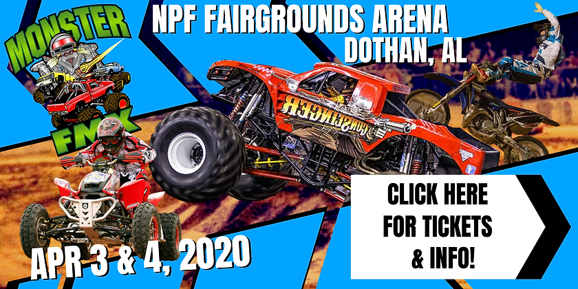 Monster Truck Show April 3rd and 4th 202