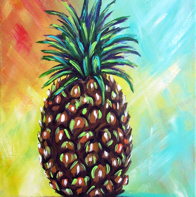 Funky Pineapple - painting party