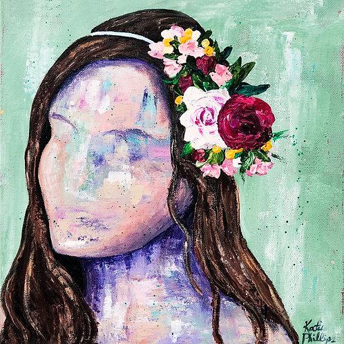 Flowers in her Hair 1