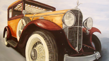 1931 Oakland V8: Classic Car Commission