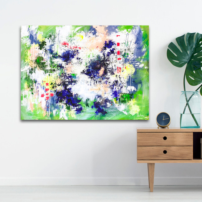 What You Wish For - Palette Knife Abstract Painting