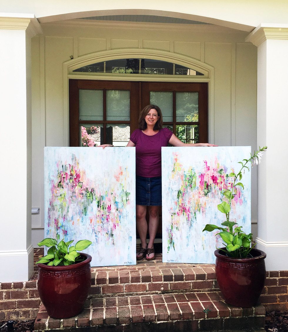 Atlanta palette knife artist Katie Phillips