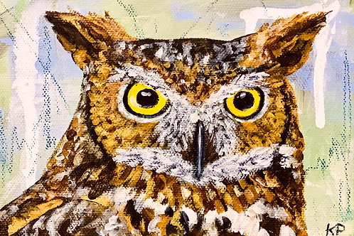 Owl - 5x7