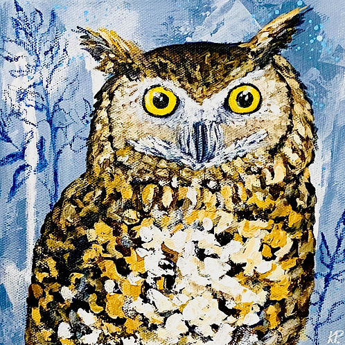 Owl - 8x8