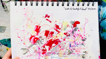 Ease Stress with this Art Journal Exercise