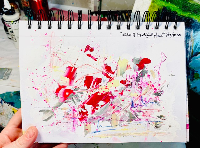 Art Journal Exercise with artist Katie Phillips