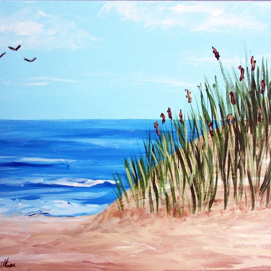 Sea Grass - Painting Party