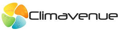 Le logo Climavenue représente les hélices de la climatisation et le trèfle à 4 feuilles !