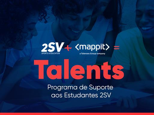 CONHEÇA O PROGRAMA DE SUPORTE AOS ESTUDANTES DA 2SV!