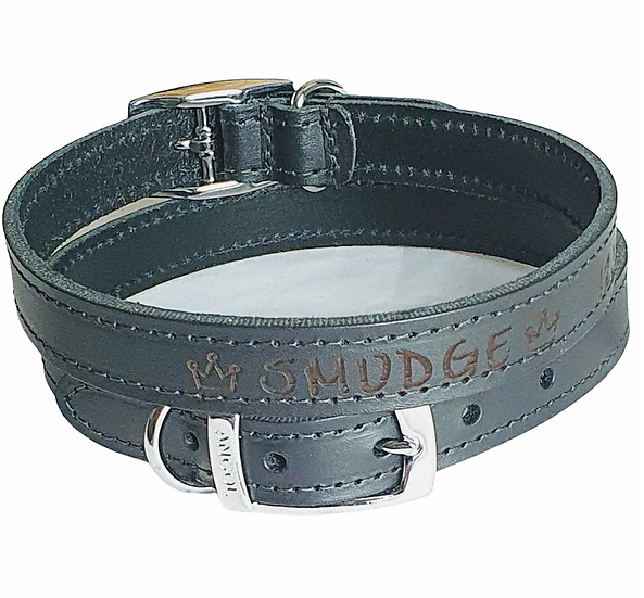 Heritage Soft Leather Collars with Unique Crowns Design