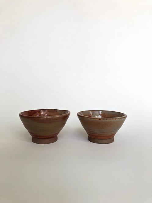 Shino Bowls, Pair - Barbie Pots