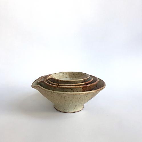 Nesting Bowls s/4 - Mark Vail Pottery
