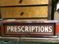 Prescriptions Sign