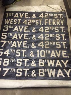 Trolley Signs