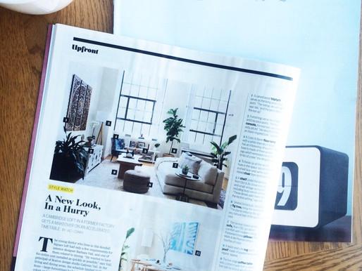 Boston Globe Magazine Feature