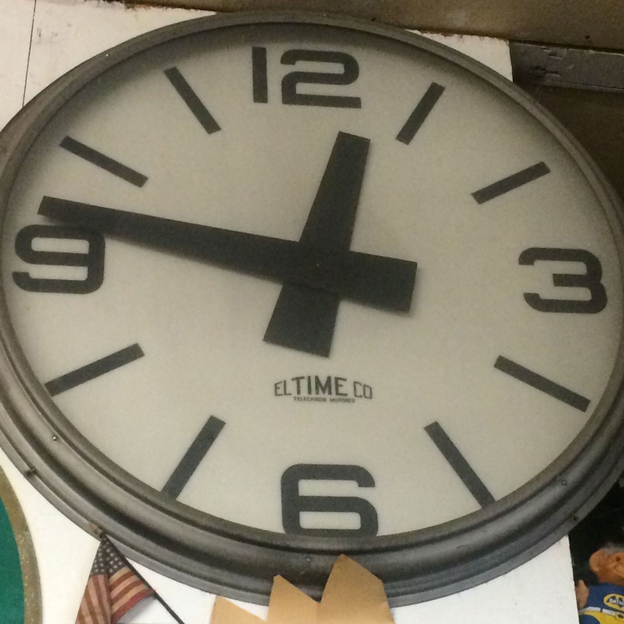 Large Electric Clock