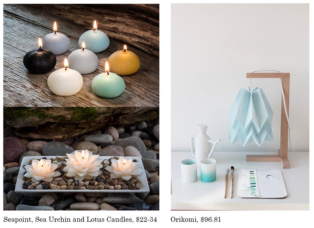 Lights and Candles, Holiday Gifts, Barbara Vail Design