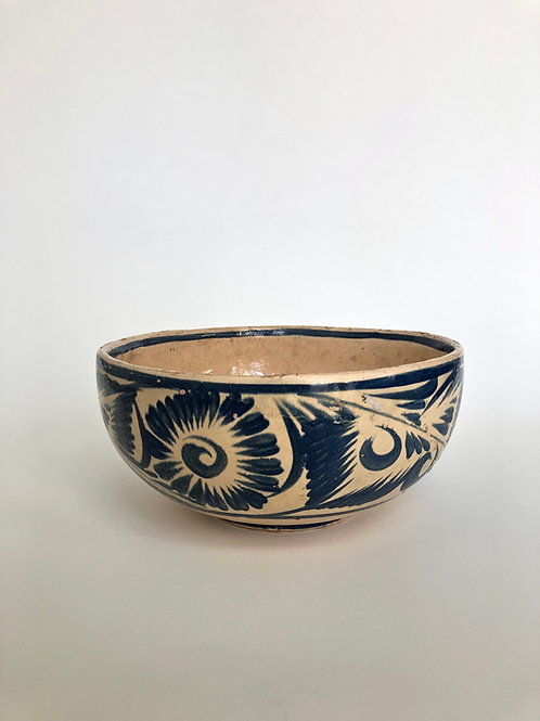 Vintage Mexican Tlaquepaque Pottery Bowl