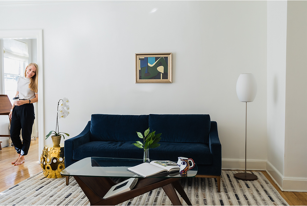 Cambridge Collector Living Room, Interior Design, Unique Collectibles, Artwork, Eclectic
