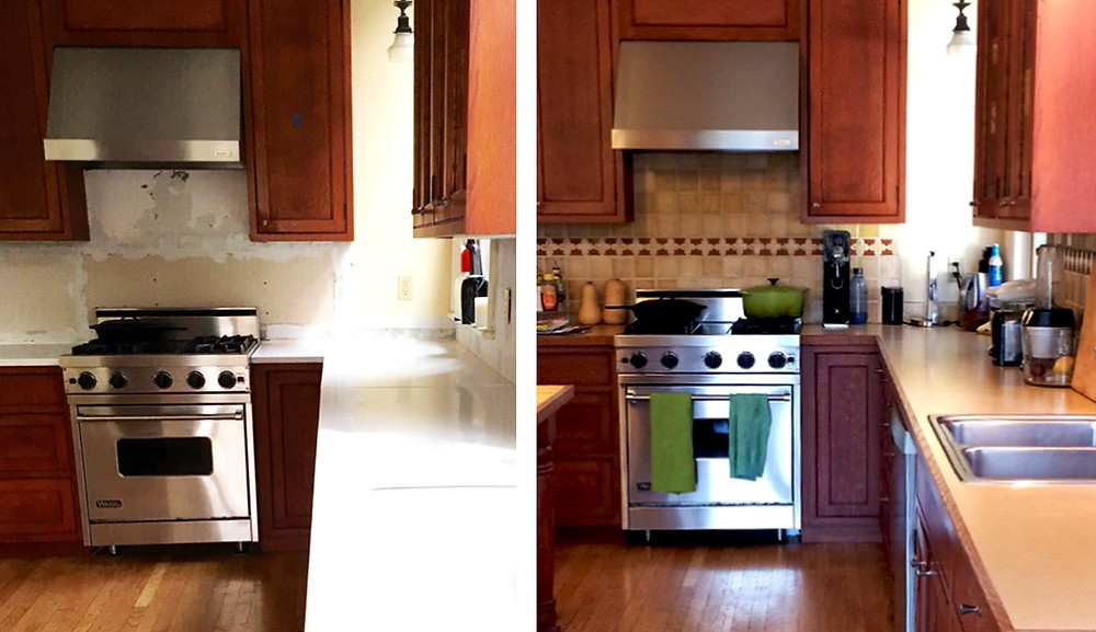 Before and After, Barbara Vail Design