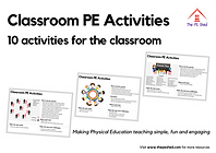 Classroom PE Activities - 10 Physical Education Activities and Games