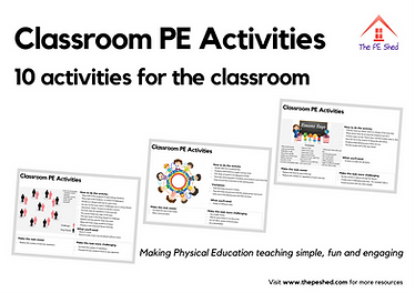 Classroom PE Activities - The PE Shed -