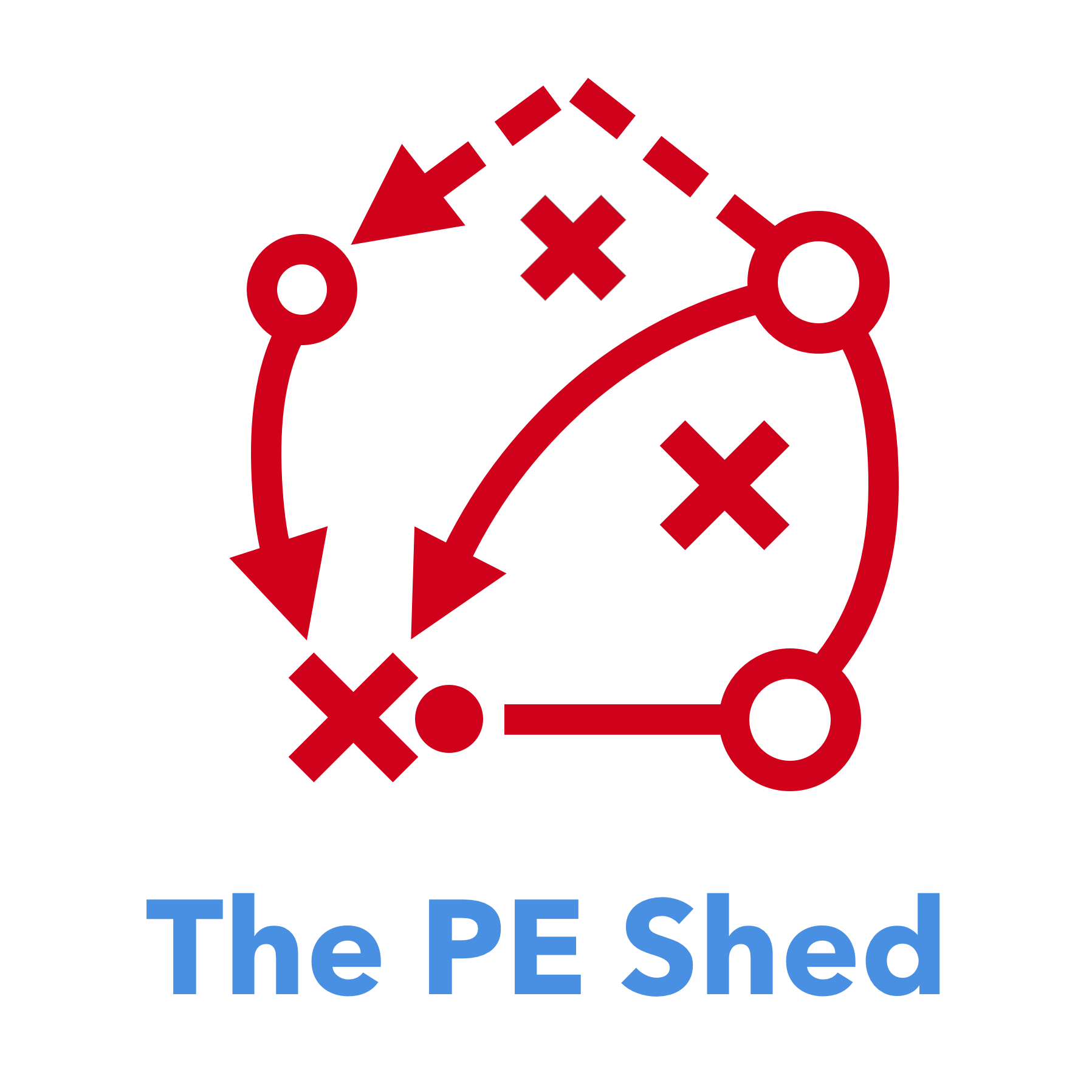 The Pe Shed Physical Education Resources And Games Building A Simple Circuit Fun With Kids Pinterest