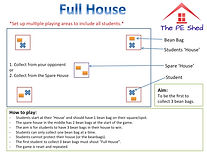 Full House PE Strategy Game