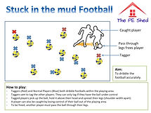 Football Stuck in the mud Game