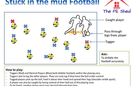 Football Soccer PE Games for Physical Education