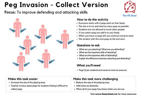 Peg Invasion - 2 Versions