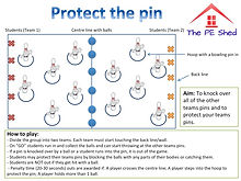 Protect the Pin PE Coordination Game