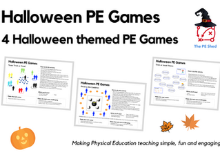 PE, Pumpkins and Trick or Treat