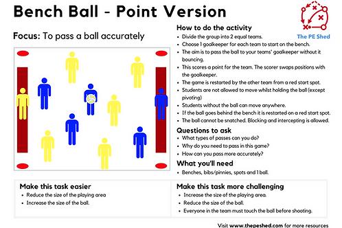 Bench Ball - 2 Versions