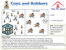 Cop and Robbers PE Strategy Game