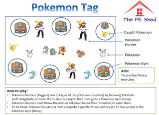 Pokemon Tag! Gotta Catch Em' All