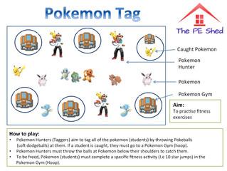 Pokemon Tag! Gotta Catch Em' All