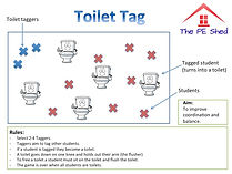 Toilet Tag PE Game