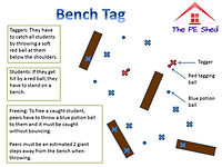Bench Tag PE Game