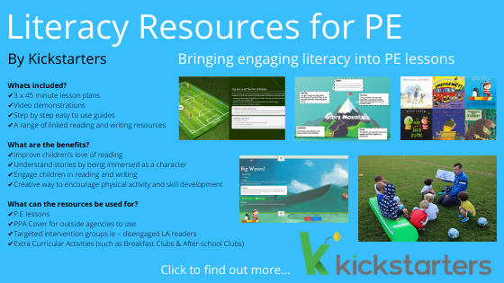 Literacy Resources in PE Physical Education Reading Writing