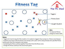 Fitness Tag PE Game