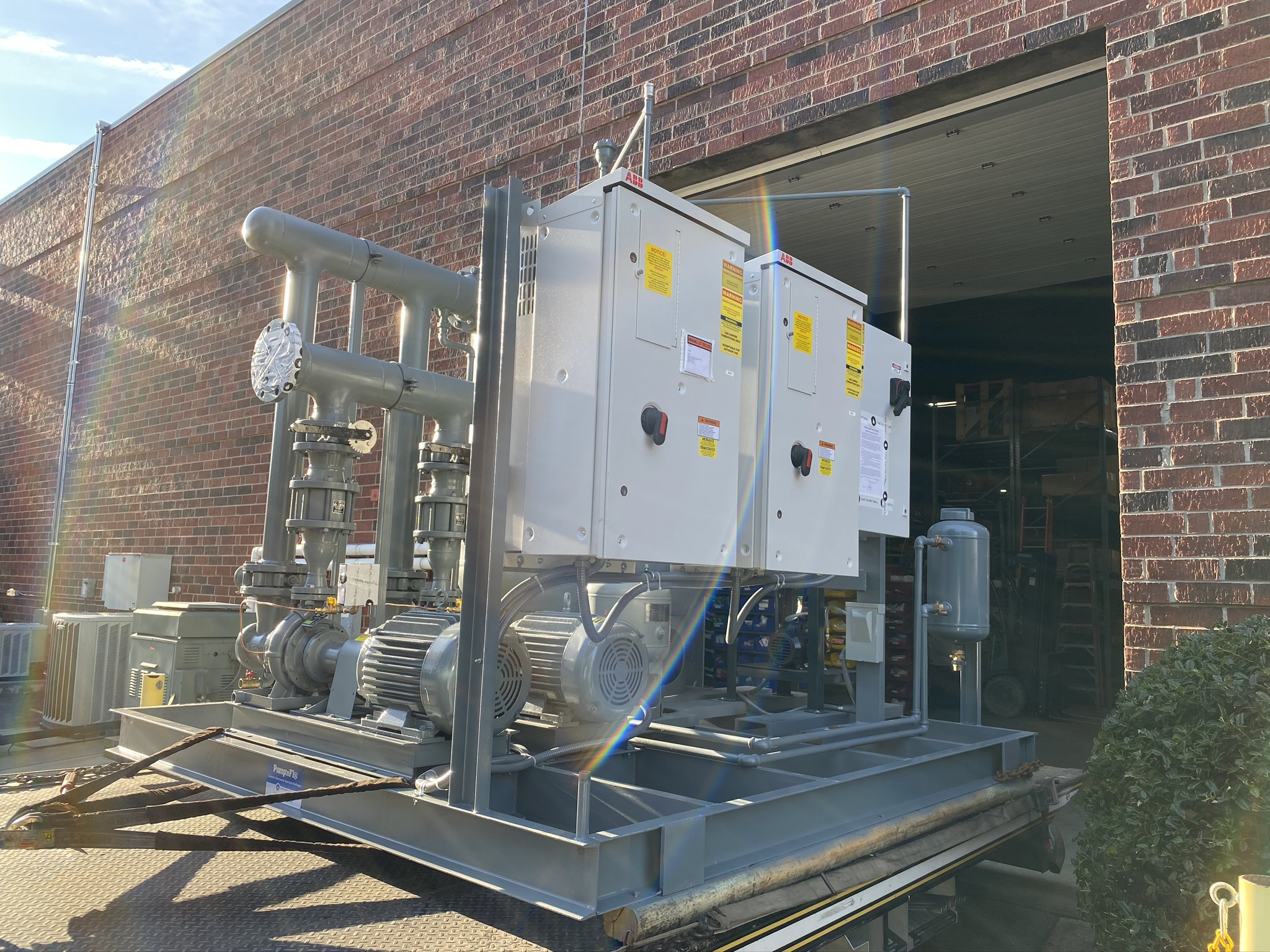 Packaged Hydronic Solutions Locus Biosciences CHW