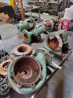 Pump Repair Before