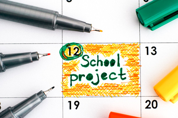 IT'S SCHOOL PROJECT SEASON. Are you ready for the main event?