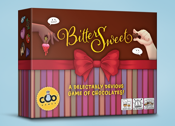 PRE-ORDER BitterSweet: A Delectably Devious Game of Chocolates!