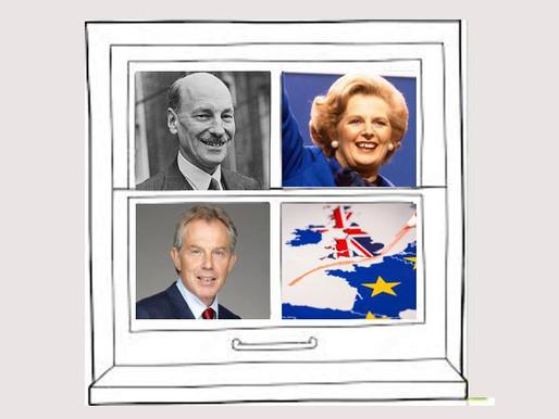 Attlee-Thatcher-Blair-Brexit