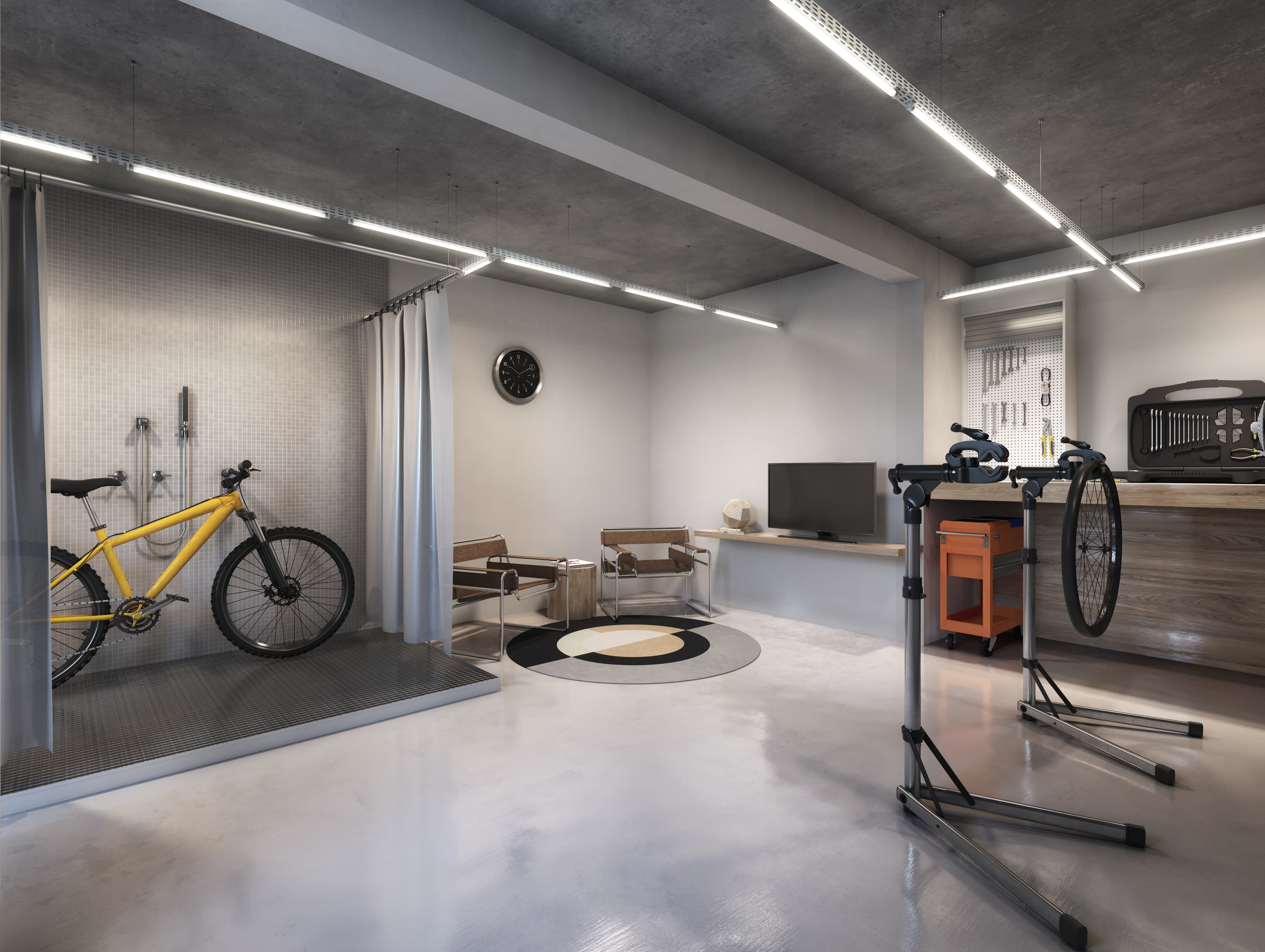 NY, 205 - Bike room