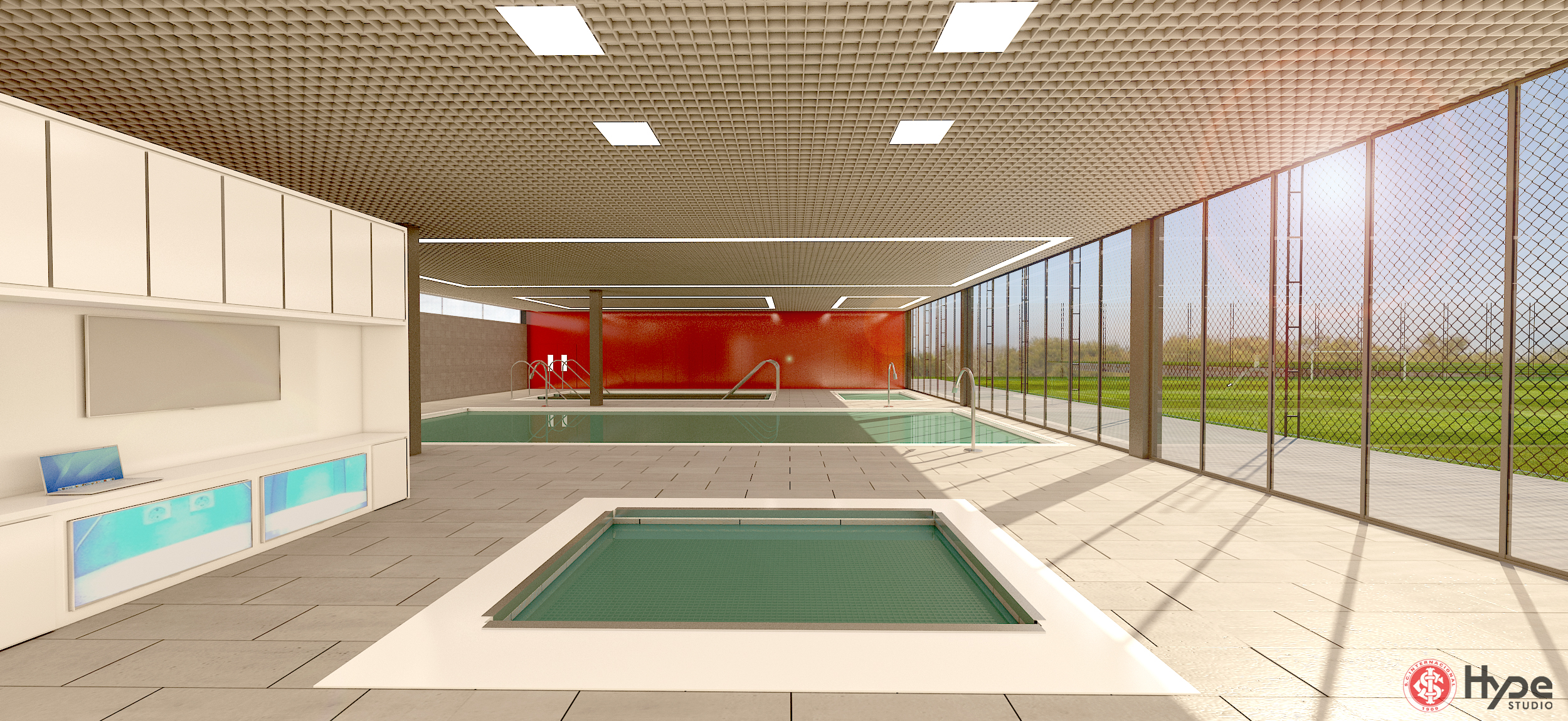 SCI Training Center - Pool
