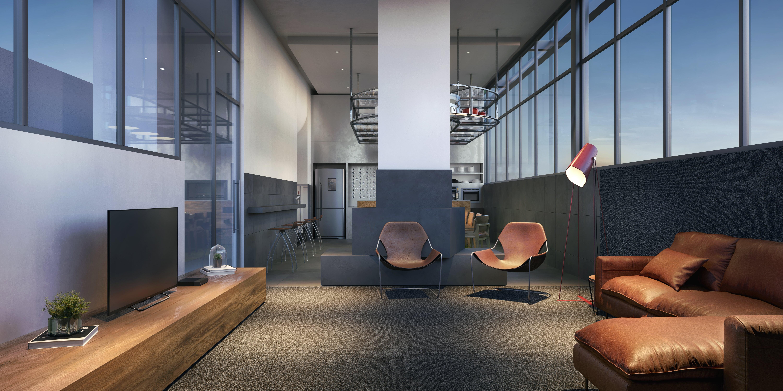NY, 205 - Social room