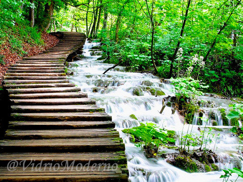Parque nacional de los Lagos de Plitvice.  Croacia